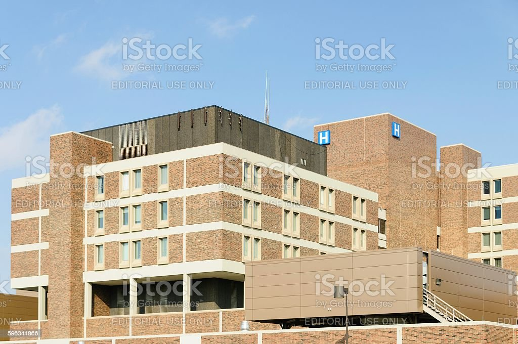 Crittenton Hospital Medical Center in Rochester Hills royalty-free stock photo