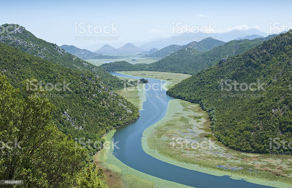 Crnojevic river stock photo