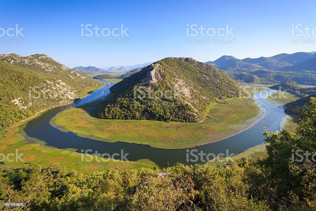 Crnojevic River stock photo