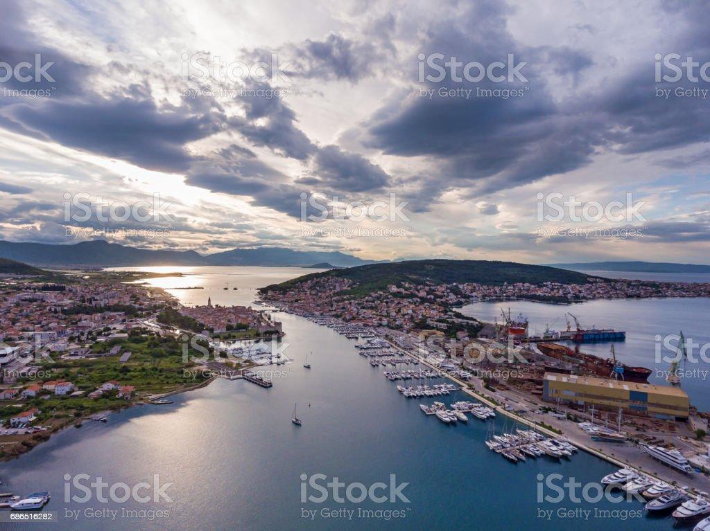 Croatia adriaticsea sea zbiór zdjęć royalty-free