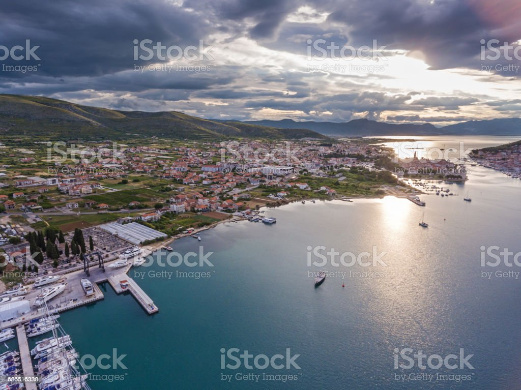 Croatia adriaticsea sea foto stock royalty-free