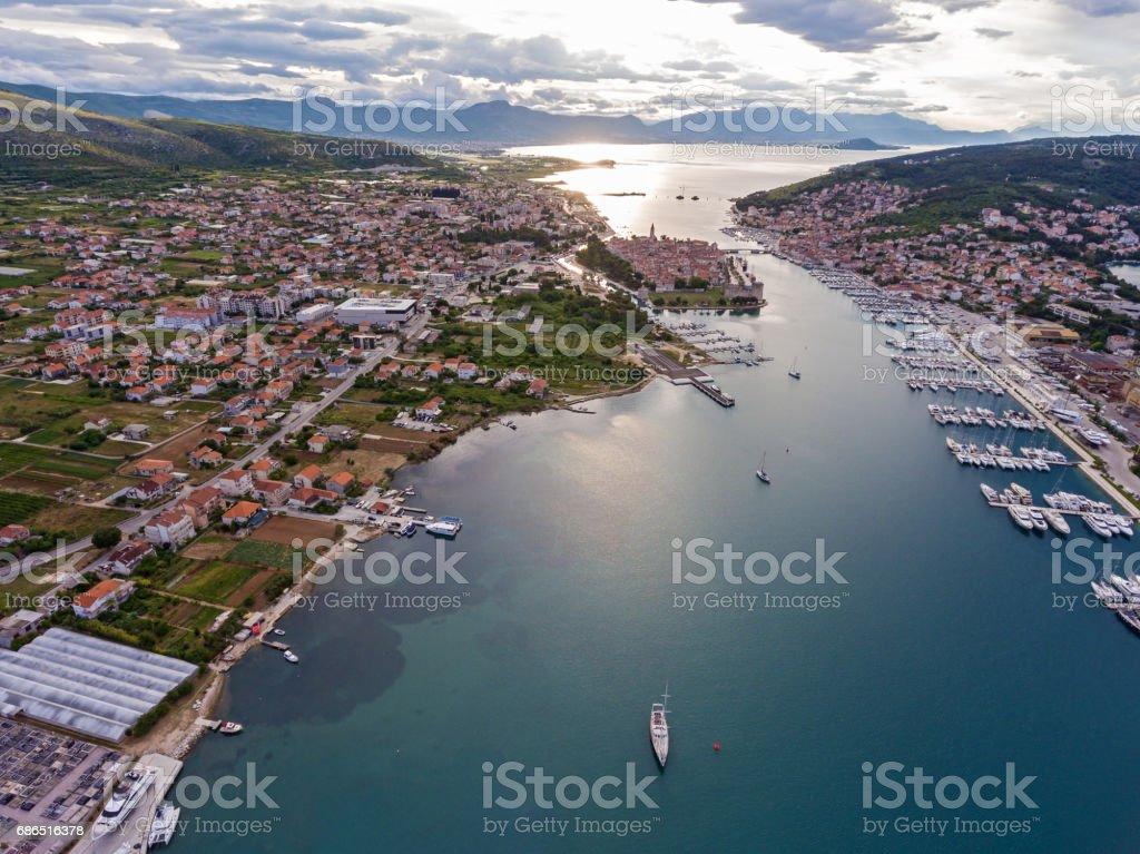 Croatia adriaticsea sea foto stock royalty-free