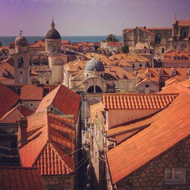 Croatia - Dubrovnik - old town stock photo