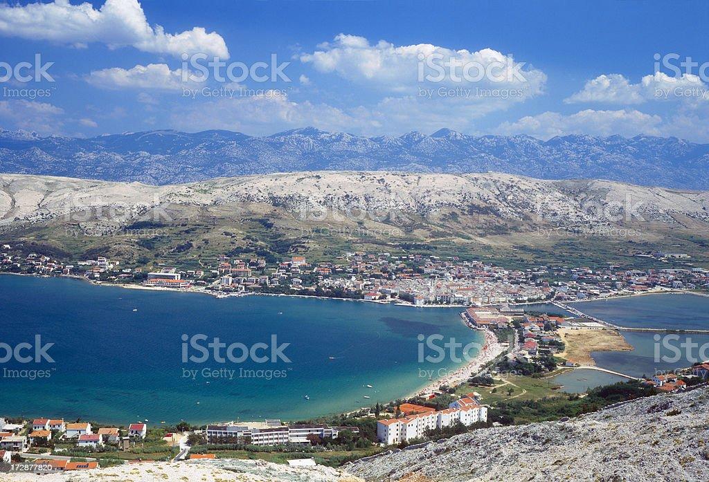 Croatia. Island Pag. stock photo