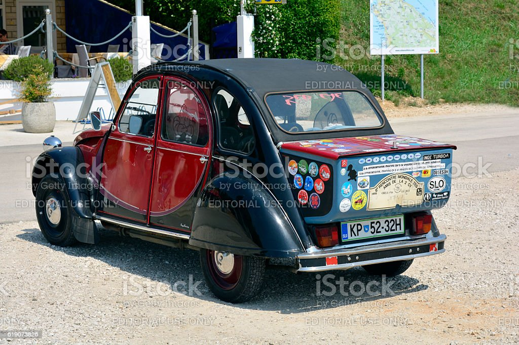 Croatia, Istria, Vintage car - Photo