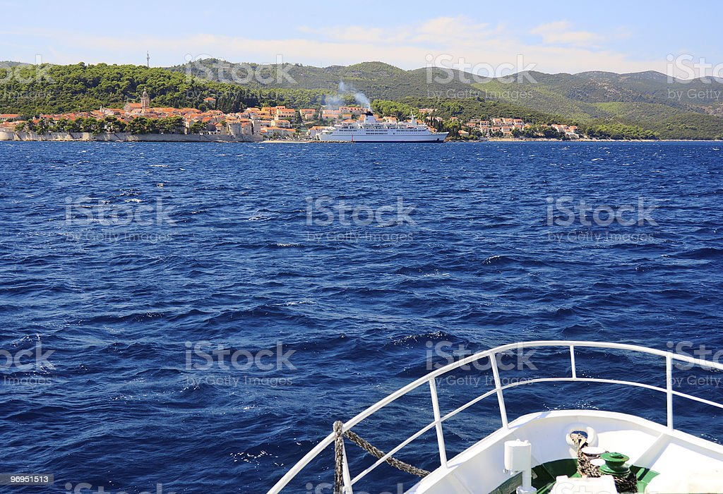 Croatia Landscape royalty-free stock photo