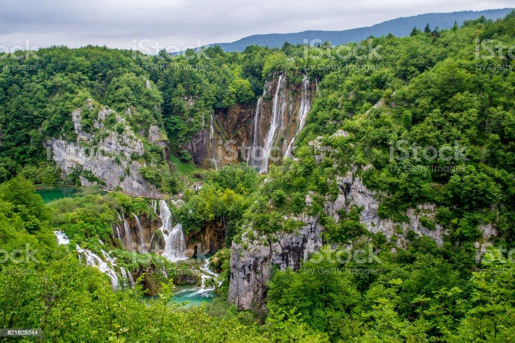 Croatia - Plitvice Lakes stock photo