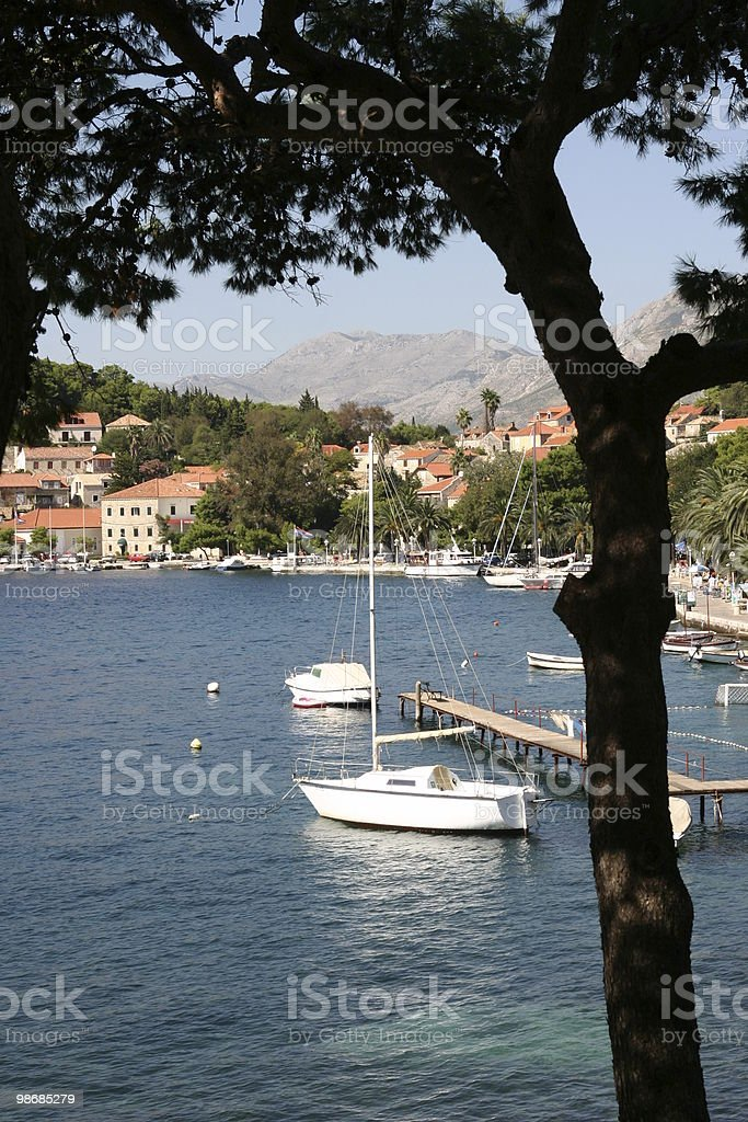 Croatian coastline 2 royalty-free stock photo