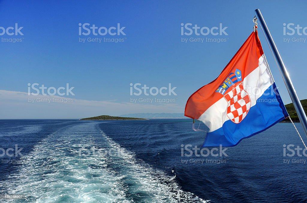Croato crociera - foto stock
