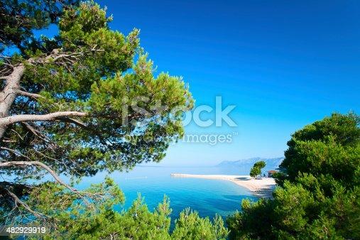 istock Croatian seascape 482929919
