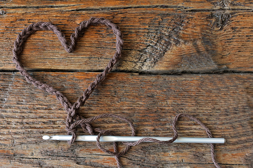 Crochet Heart Symbol