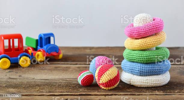 Crochet pyramid from colored rings toy for babies and toddlers to picture id1175433901?b=1&k=6&m=1175433901&s=612x612&h=0ggd0bhkla0d8tcecrwpmo2kyvztnmbj2or7blcdkcu=