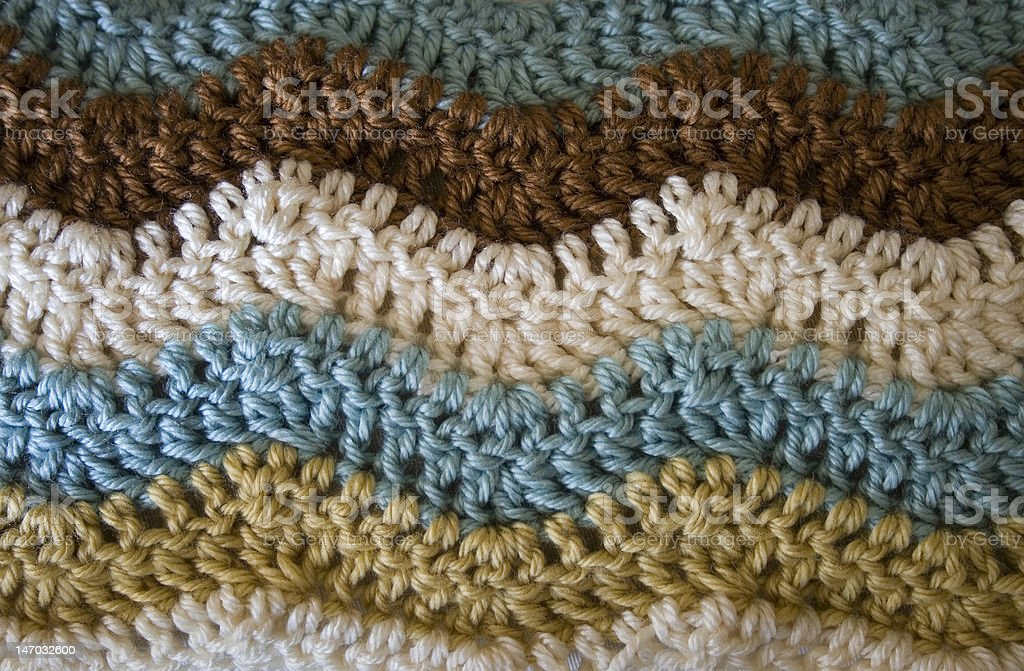 Crochet Ripple royalty-free stock photo