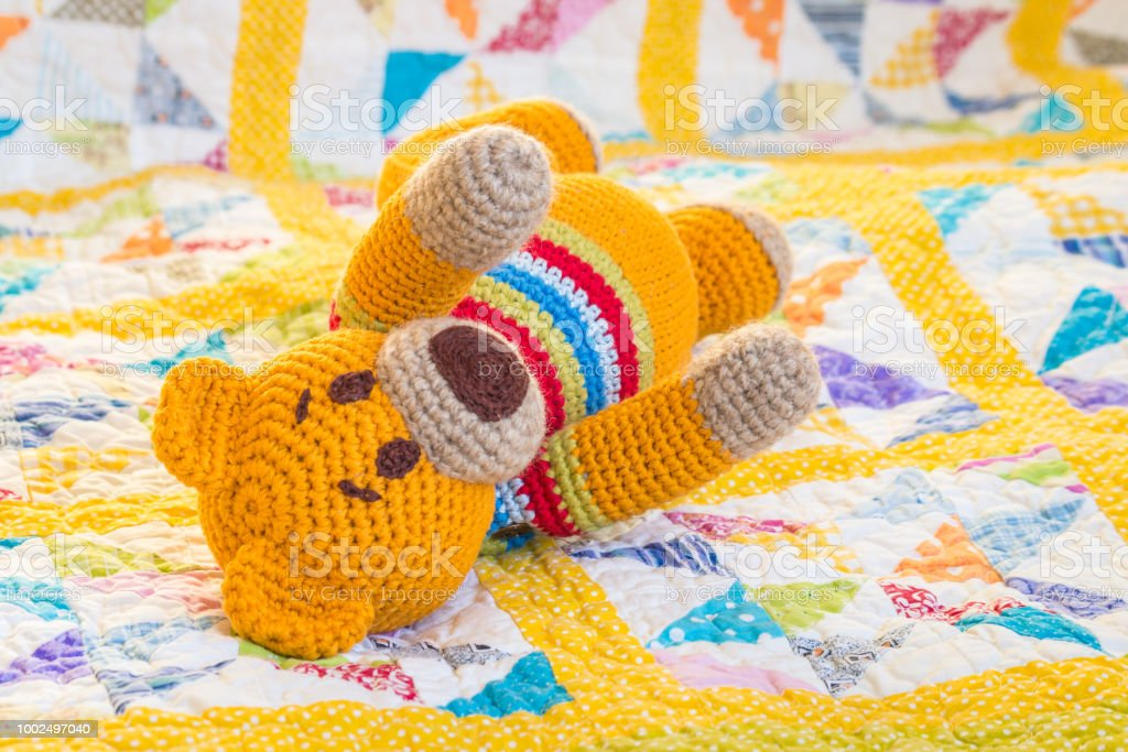 Ravelry: Teddy bear applique. Free pattern by Chinami Horiba ... | 683x1024