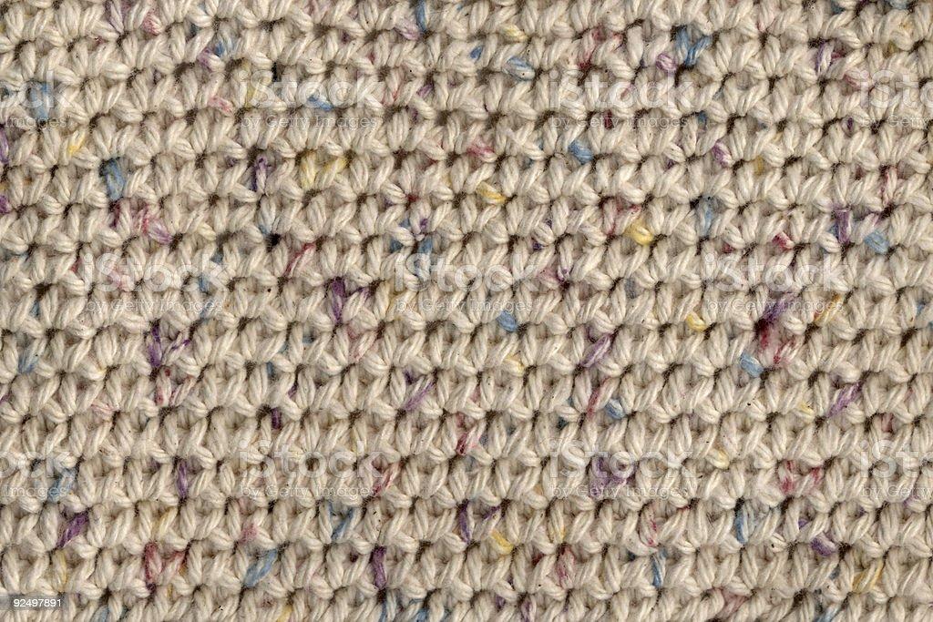crochet texture royalty-free stock photo