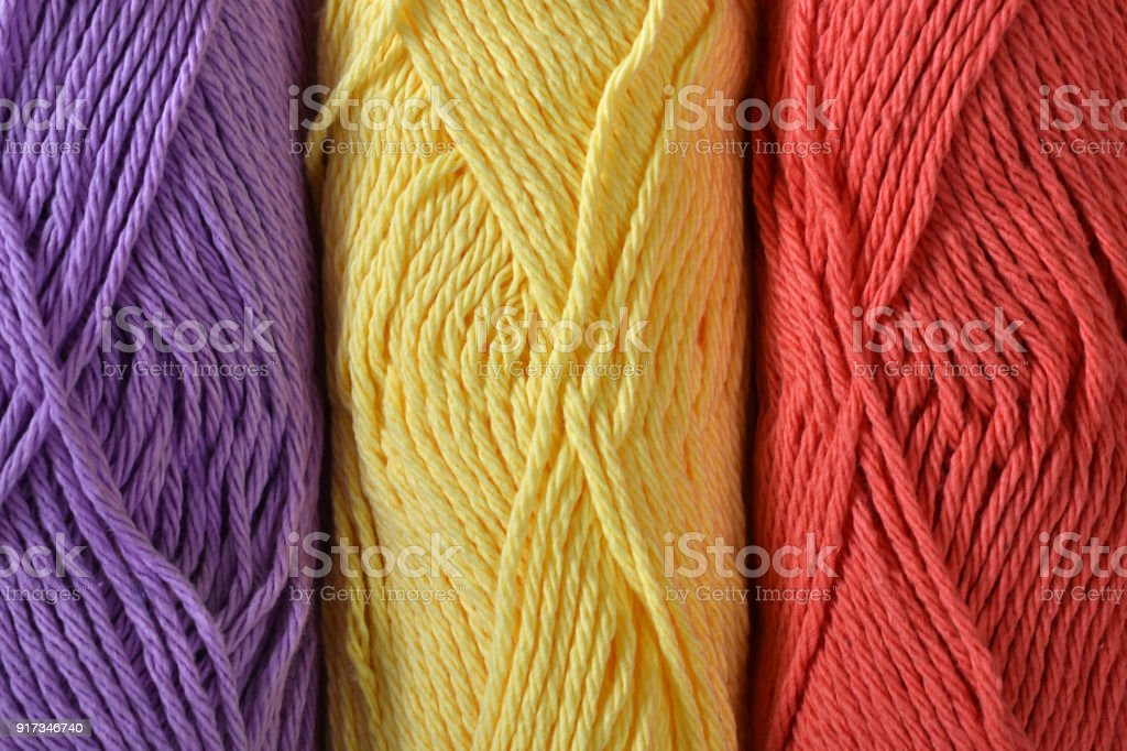 Crochet Yarn Abstract stock photo