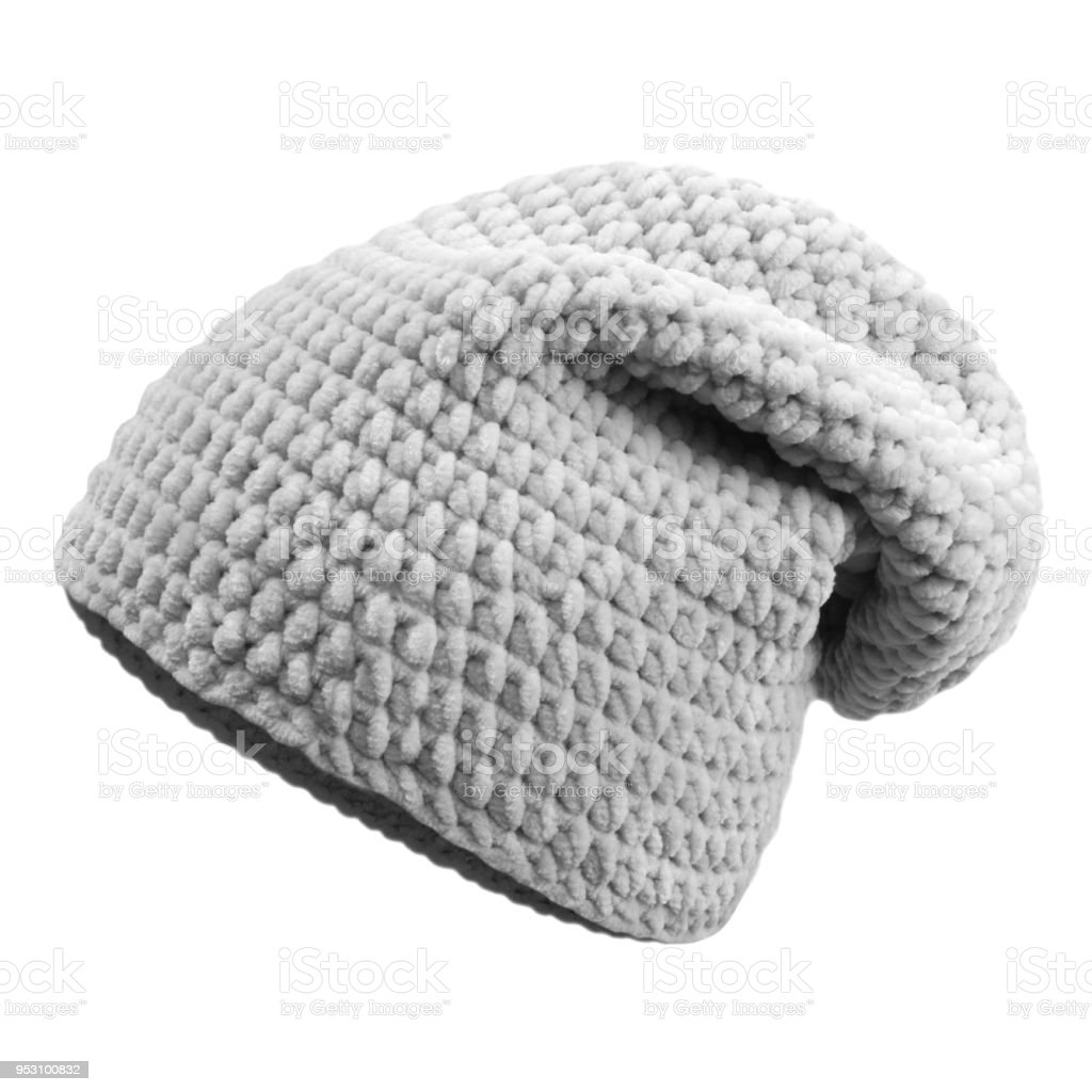 5b7ca877 Crocheted Hat Stock Photo & More Pictures of Autumn - iStock