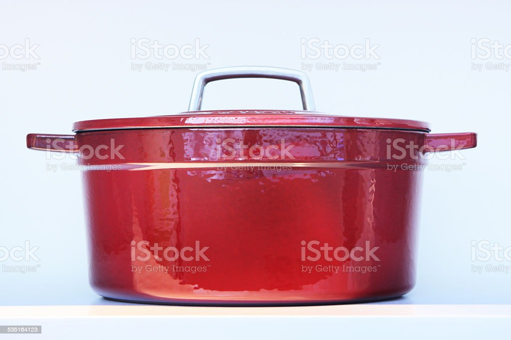 Crock Pot Casserole Cookware stock photo