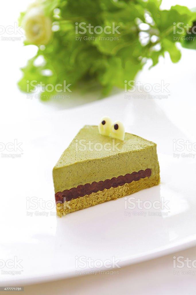 crocodile cake royalty-free stock photo