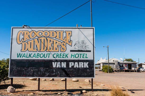 Crocodile Dundee's Walkabout Creek Hotel stock photo