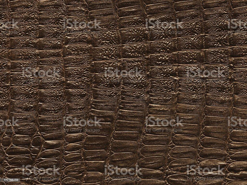 crocodile leather texture royalty-free stock photo