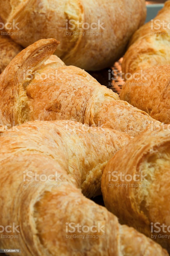 Croissant background royalty-free stock photo
