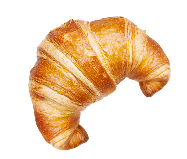 croissant isolated on white croissant isolated on white croissant stock pictures, royalty-free photos & images