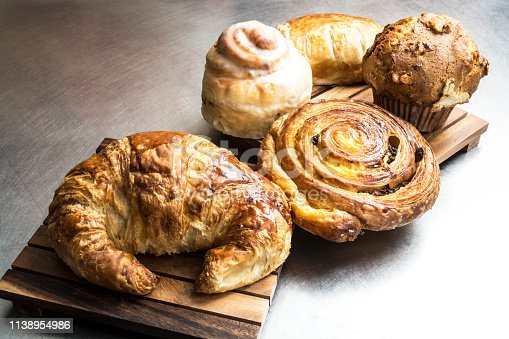 Croissant Muffin And Pastry