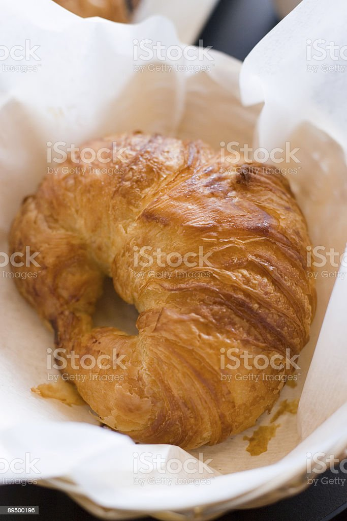 Croissant royalty free stockfoto