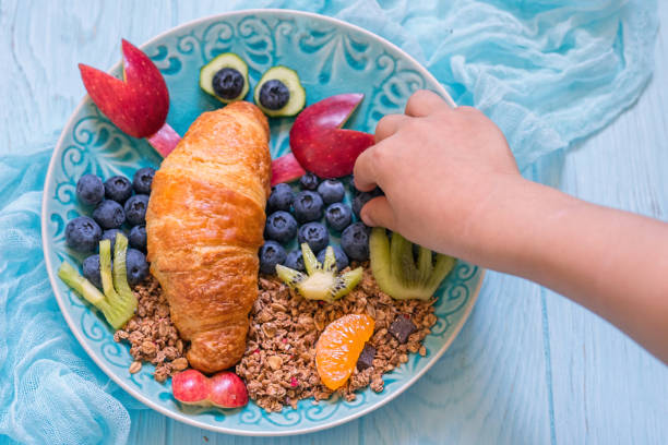 Croissant with berries for funny kids breakfast picture id695498564?b=1&k=6&m=695498564&s=612x612&w=0&h=vag1206hpngqryzn6i5yafa4a60xwexuilhx6a up8s=
