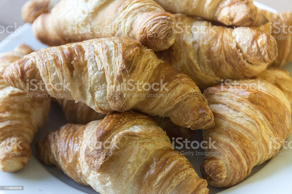 Croissants royalty-free stock photo