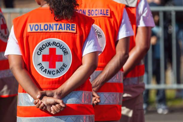 Croix Rouge Française stock photo