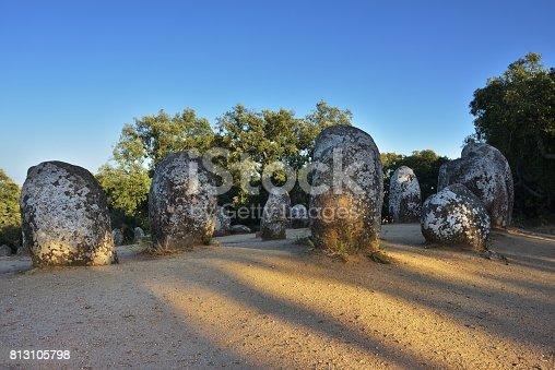 istock Cromeleque dos Almendres, Portugal 813105798