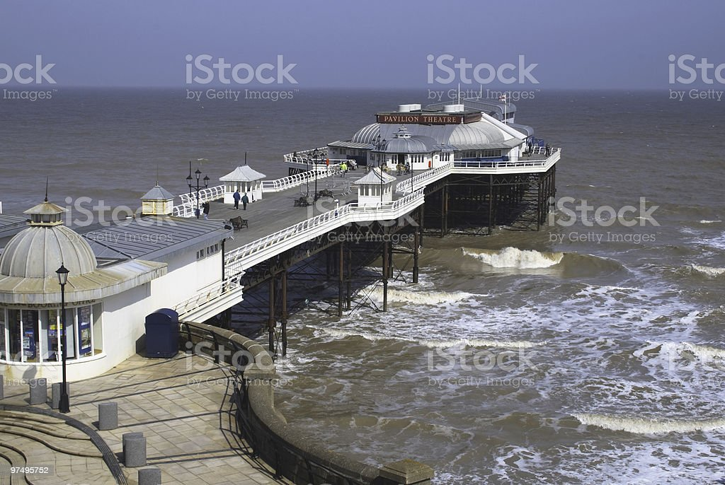 Cromer Pier royalty-free stock photo