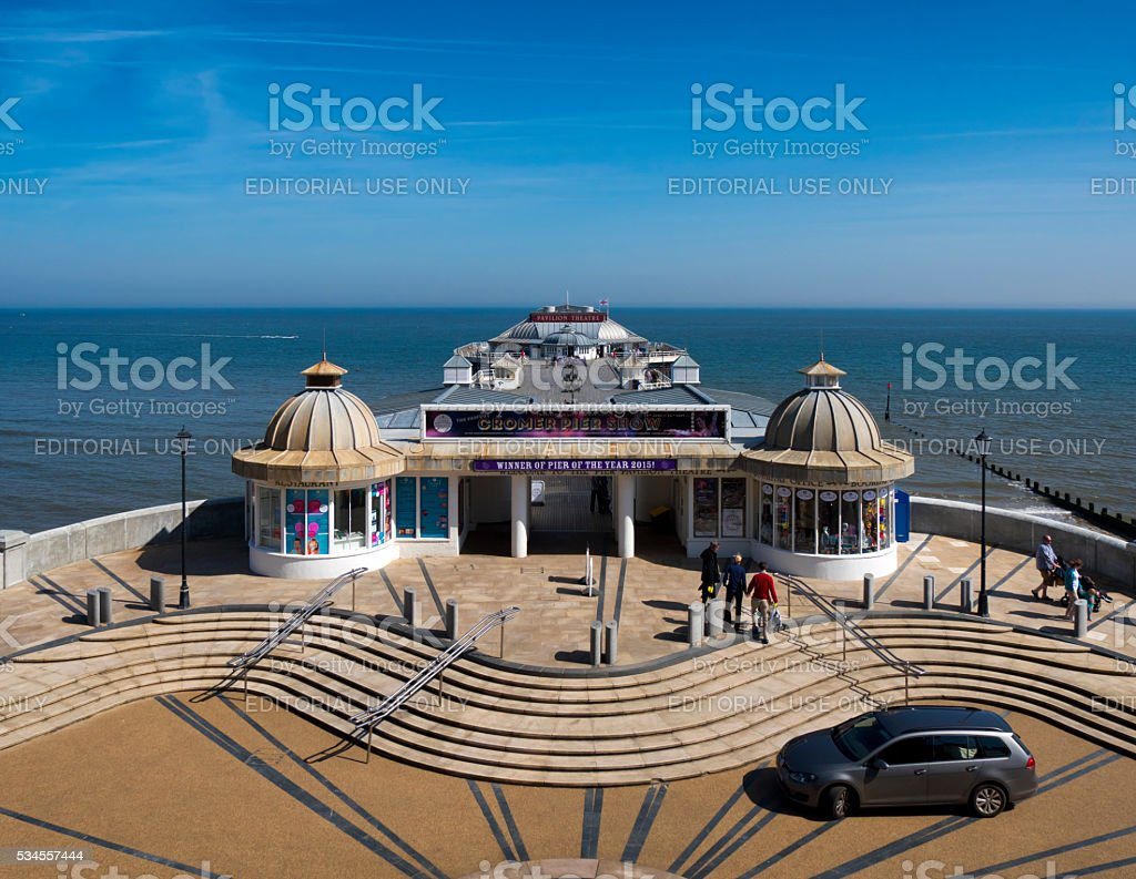 Cromer Pier - Pier of the Year 2015 stock photo