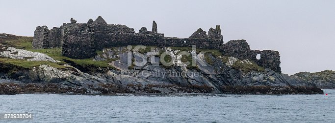 Ruins of Cromwell's Fort on Inishbofin Island, Galway.