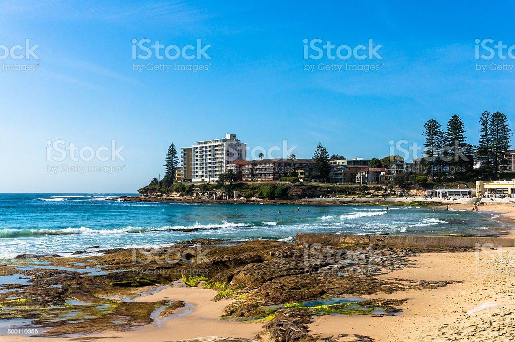 Cronulla beach, Australia stock photo