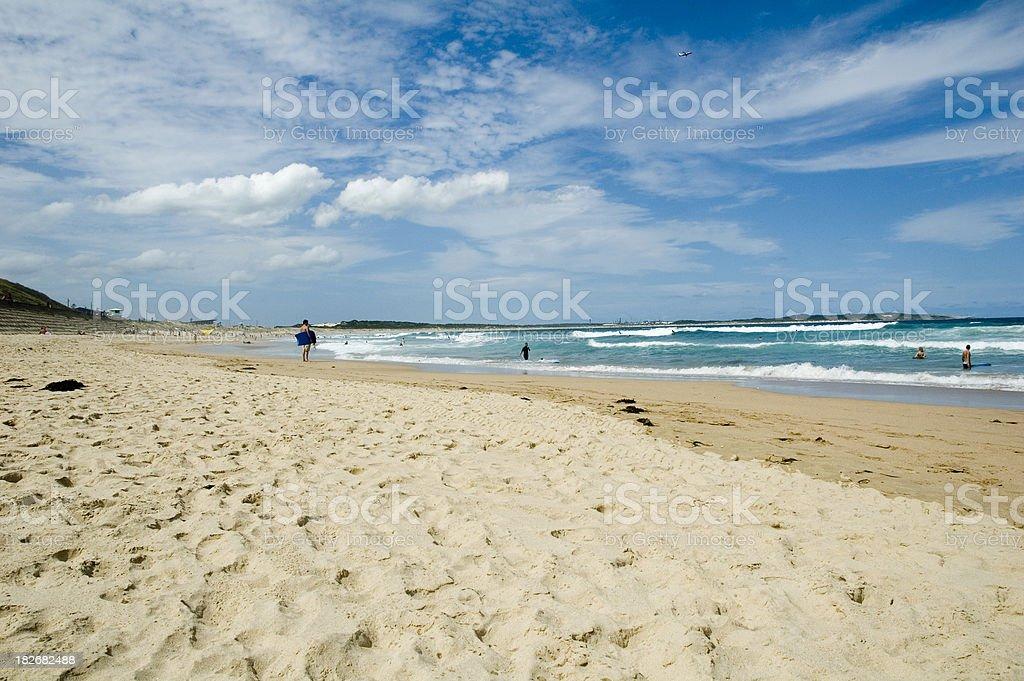 Cronulla beach royalty-free stock photo