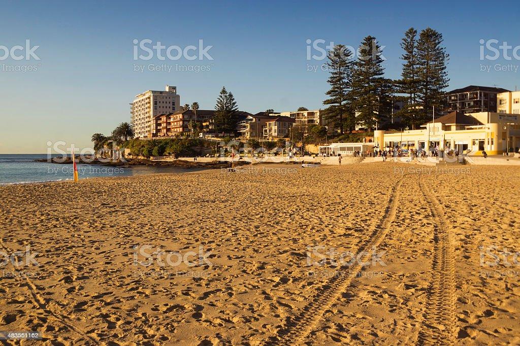 Cronulla Beach stock photo
