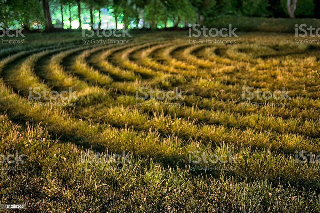 Crop Circles Of The Night stock photo
