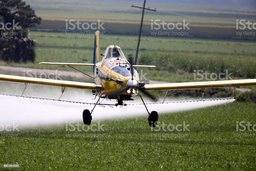 Crop Duster royalty-free stock photo