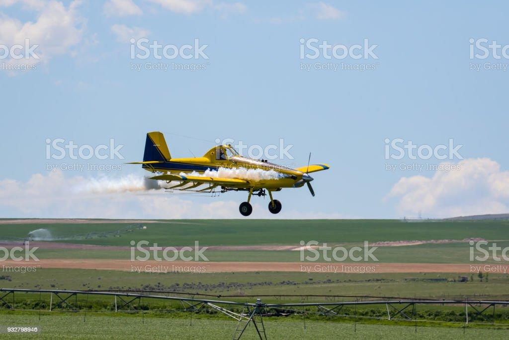 Crop Duster stock photo