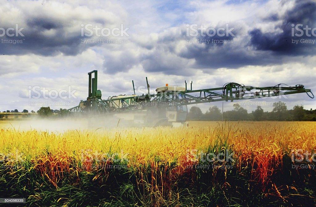 crop sprayer royalty-free stock photo