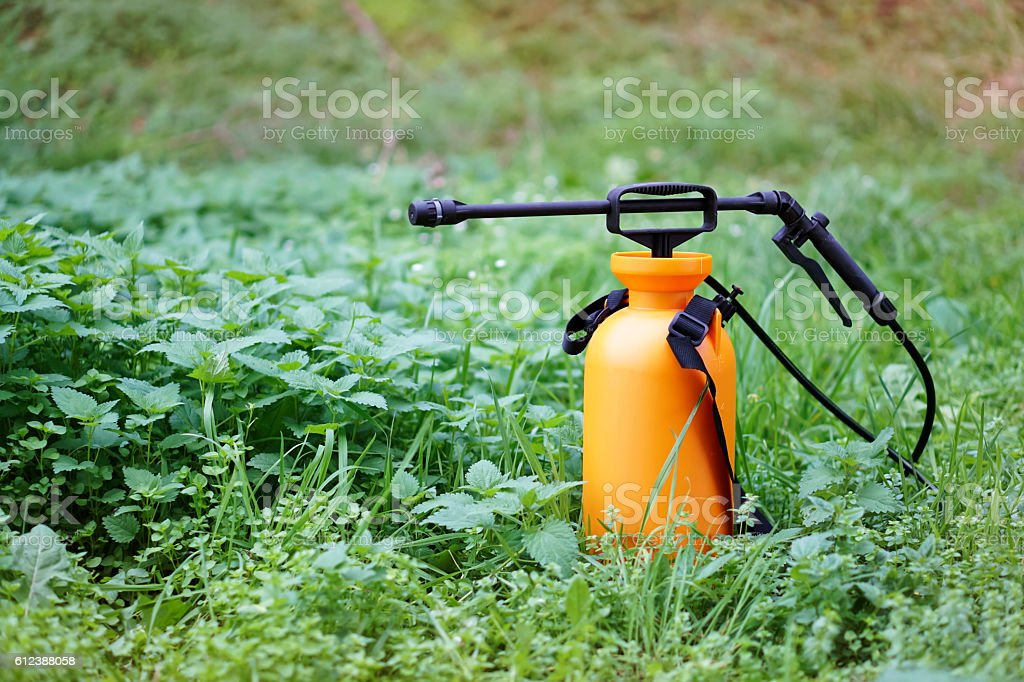 Crop sprayer stock photo