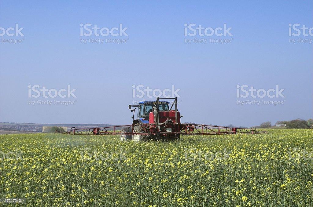 crop spraying royalty-free stock photo