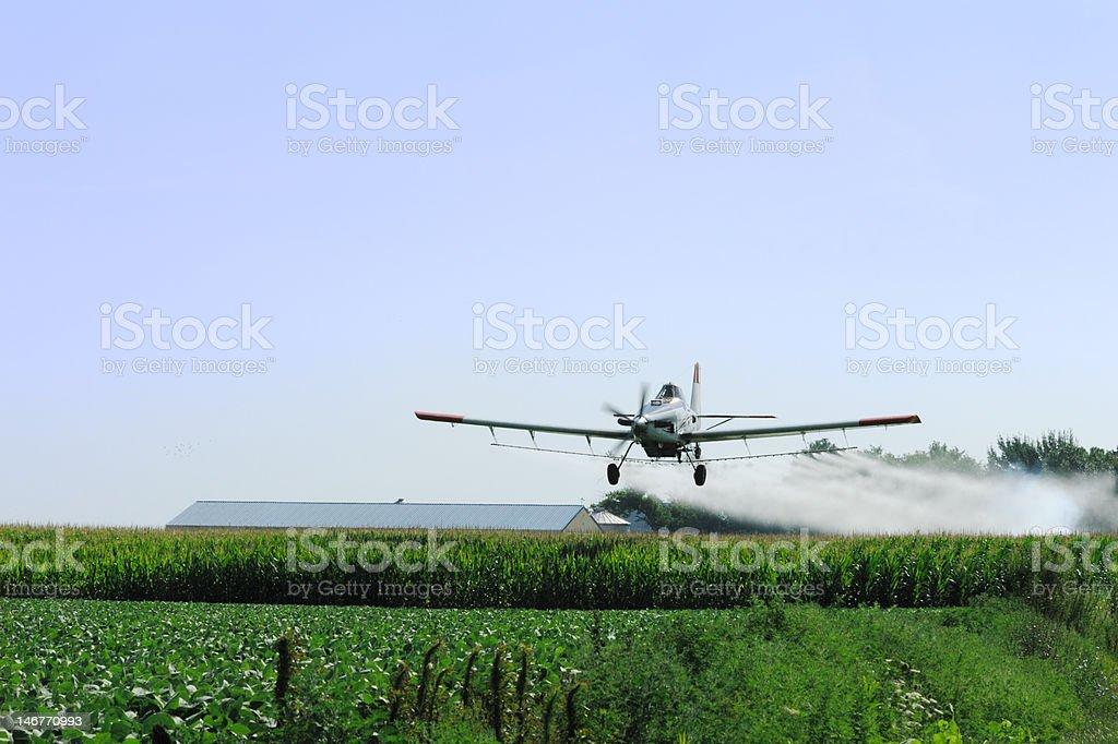 Cropduster sprühen Corn – Foto