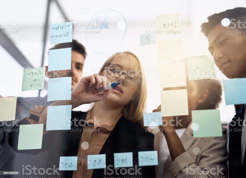 They've got the best team on the job royalty-free stock photo