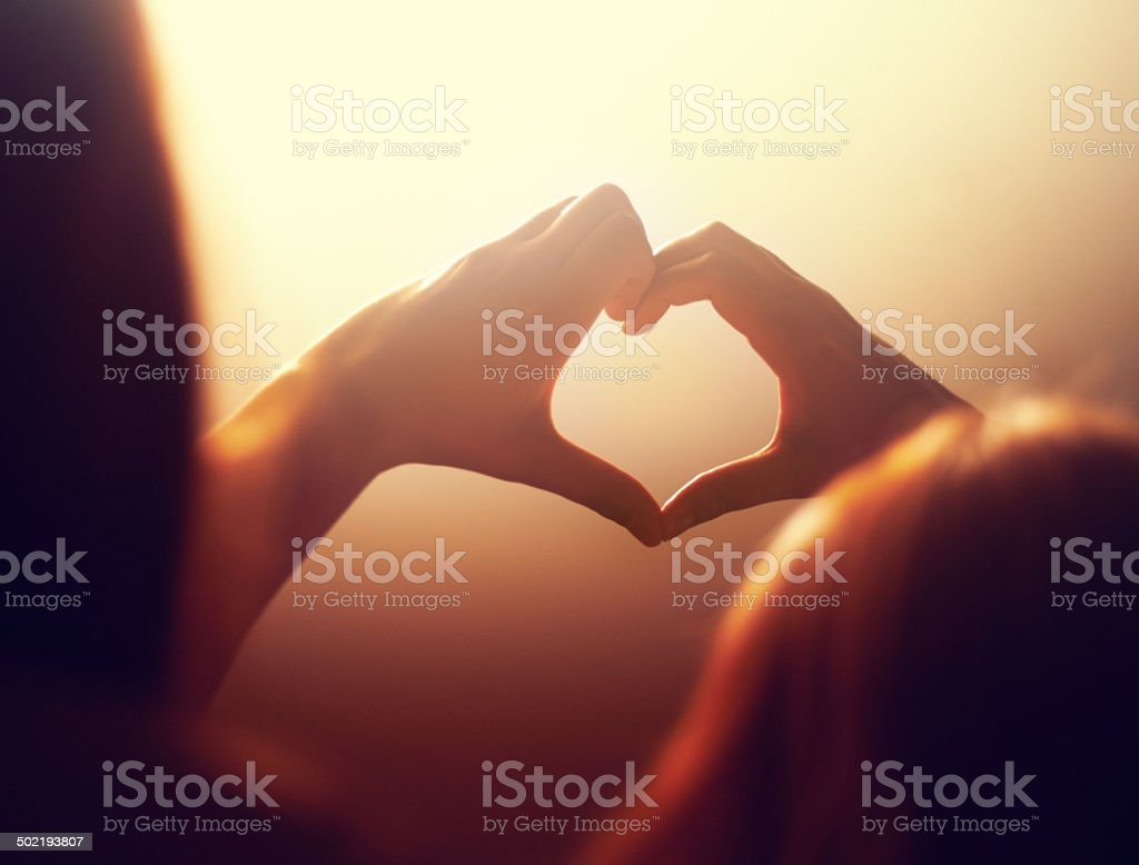 Got a lot of love stock photo