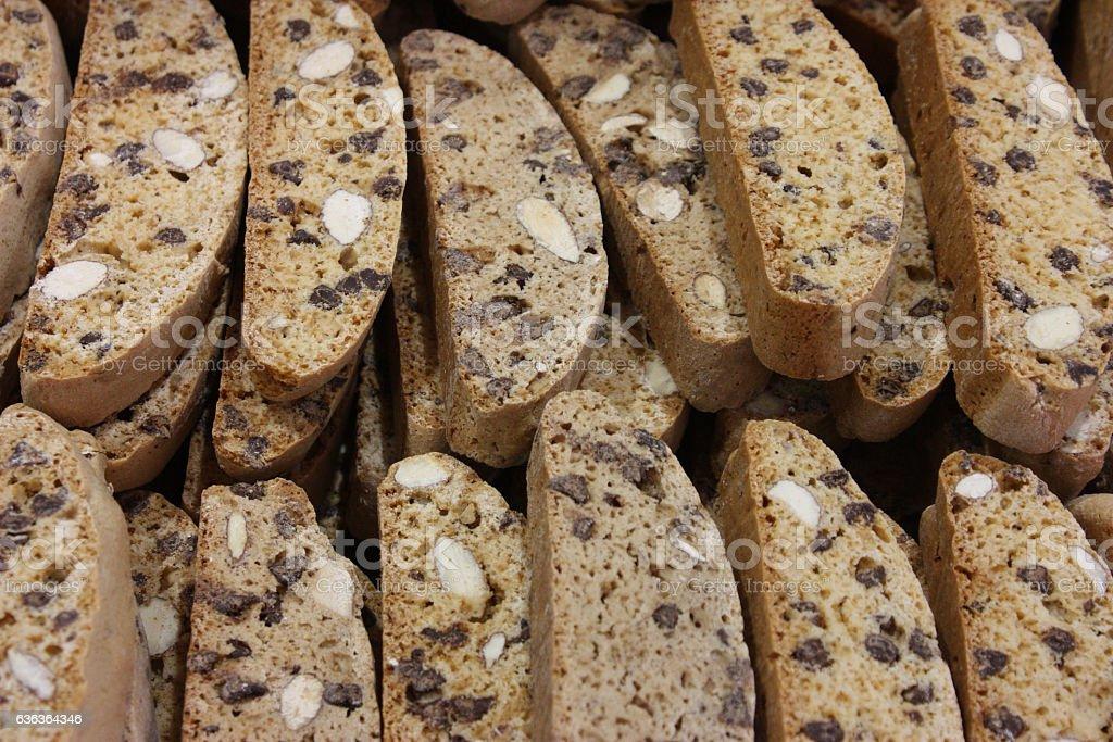 Croquants aux amandes - Provence stock photo