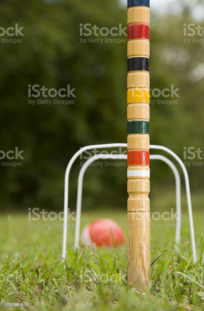 croquet royalty-free stock photo